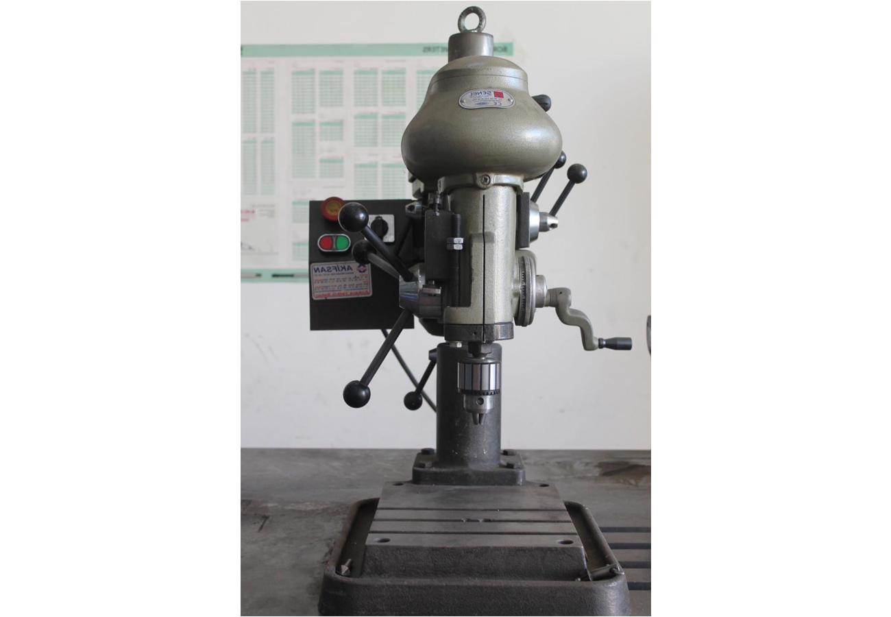Bench drill and thread cutter